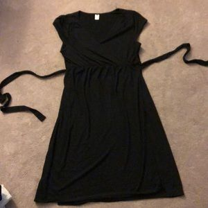 Old Navy Maternity wrap dress.